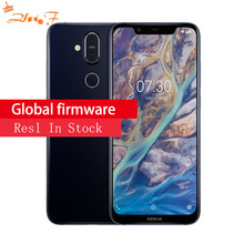 NOKIA X7 4/ 6GB RAM 64/128GB ROM Snapdragon 710 2.2GHz Octa Core 6.18 Inch FHD+ Full Screen Android 8.1 4G LTE Smartphone
