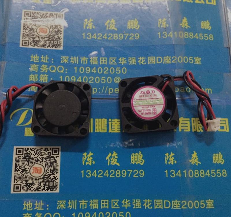 NEW 2006 2CM 20MM 20*20*6MM Cooling fan ultrathin fan 5V 0.9W mini laptop fan ball 2wire sunon mf70120v3 c000 a99 5v 0 75w 2wire cooling fan