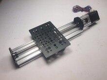 Funssor 1set*NEMA 17 V-Slot Linear Actuator Bundle (TR8 Lead Screw) Z-axis router kit 250mm Reprap 3D printer sapre parts