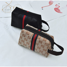 Cosmetic Bag Mke Up Bags Cases Travel Makeup Case Women Organizer Pouch Wash Kit Bear Design Coin