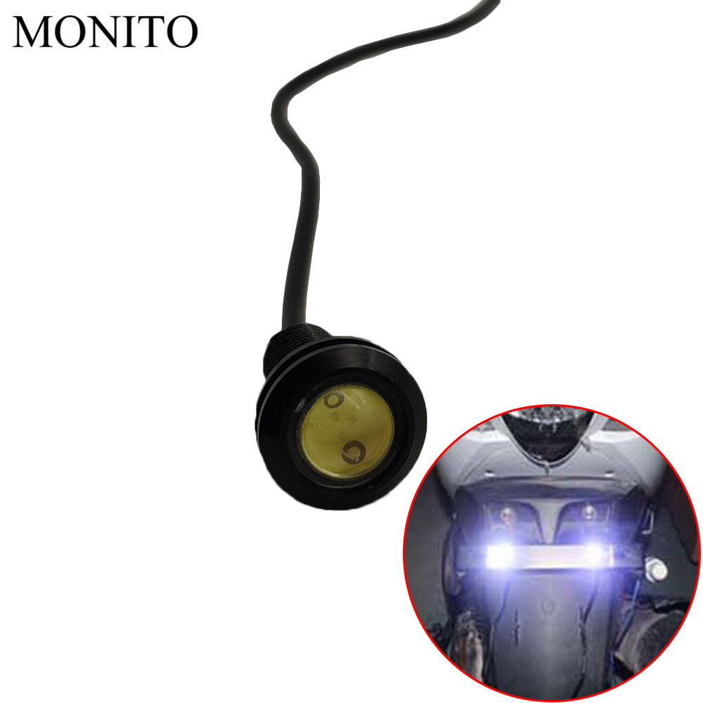Motorcycle Eagle Eye <font><b>LED</b></font> Strobe Light DRL Daytime Running Signal Lamps For <font><b>BMW</b></font> K1600 R1200GS <font><b>R1200R</b></font> R1200RT R1200S R1200ST R1200 image