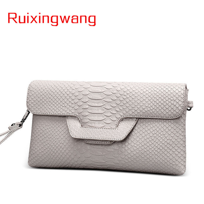RUIXINGWANG Hand Package Woman Archives Crocodile Grain Believe Wrap Woman Hand Take Fashion Tide Maam Single Shoulder Bag
