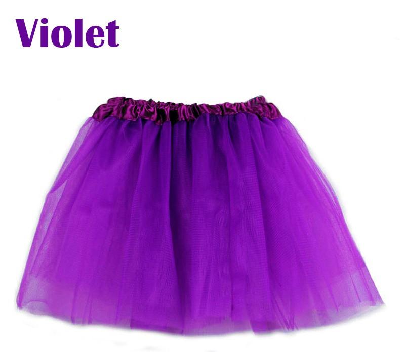 8bab1cf48 Baby Girls Skirt Translucent 3 Layer Net Yarn Children Skirt Candy ...