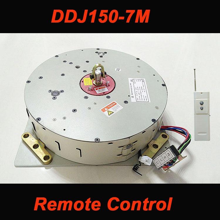 150KG 7M kladkostroj pro systém snižování lustrových lamp Lustrový naviják Light Lift 110V-240V Doprava zdarma