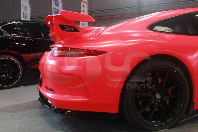 2012-2014 Porsche 911 991 Carrera & Carrera S GT3-RS Style Rear Bumper Center Exhaust Opening FRP (43)