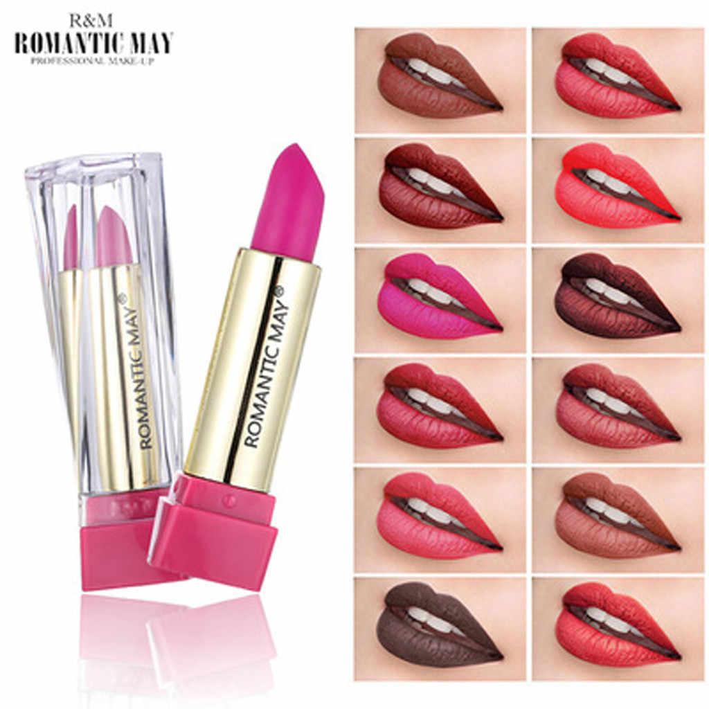 שקוף טבעי אדום שפתיים מקל טמפרטורת צבע שינוי עמיד למים קרם לחות פרח ג 'לי שפתונים איפור שפתון F4.13