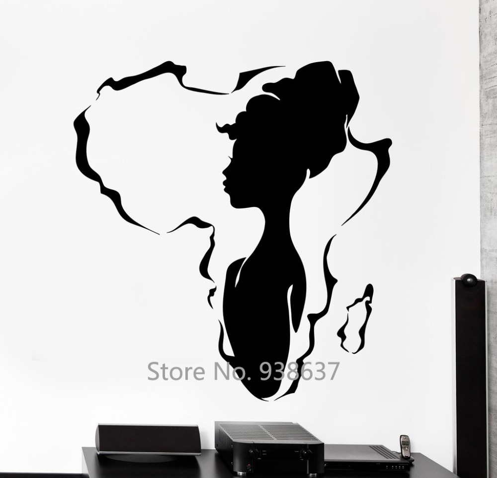Compare prices on africa wallpaper online shopping buy - Stickers deco salon ...