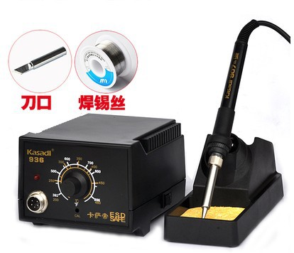 5pcs set 936 Soldering Station 220V 60W Soldering Iron Handle Tool Kit 936 Solder Rework Station Fast Heating Adjustable 936 soldering station 220v 60 65w electric soldering iron for solder adjustable machine make seals tin wire solder tip