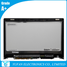For Lenovo YOGA 3 14/YOGA 700-14ISK Replacement N140HCE-EBA Rev.C1 Laptop LCD Touch Screen Assembly Digitizer Bezel 5D10H35588