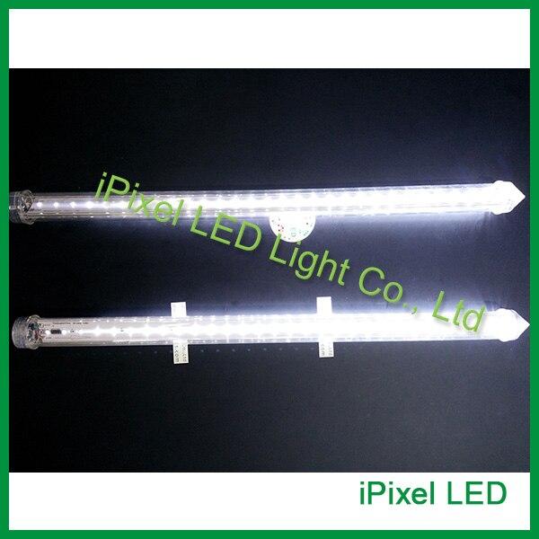 0.5 м 3.6 Вт прозрачный светодиодные трубки SMD2835 LED Метеоритный дождь Дождь трубки огни