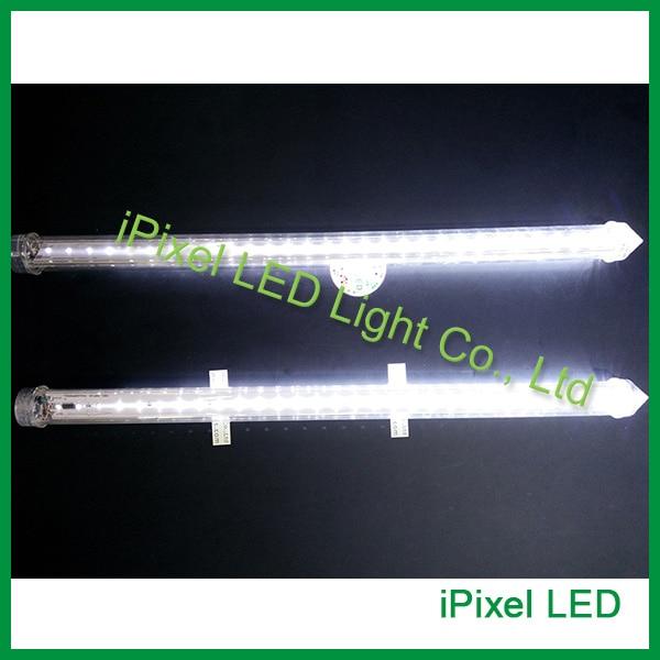 0.5M 3.6w transparent tube led tube smd2835 led meteor shower rain tube lights