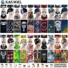 Новейшие спортивные шарфы на открытом воздухе, Солнцезащитный велосипедный шарф, повязка на голову с черепом, трубчатые банданы для защиты лица, многоцелевая бесшовная бандана