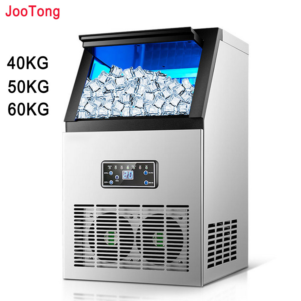 Automatic Ice Making Machine Commercial Cube Ice Maker Small Business Machinery Ice Ball Machine For Milk Tea Bar Coffee Shop