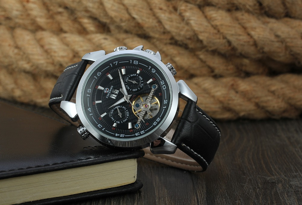 Calendário Dos Homens Mecânicos Relógios Top Marca