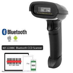 NT-1698W ручной Wirelress сканера штриховых кодов и NT-1228BL Bluetooth 1D/2D QR штрих-кодов PDF417 для IOS Android IPAD NETUM