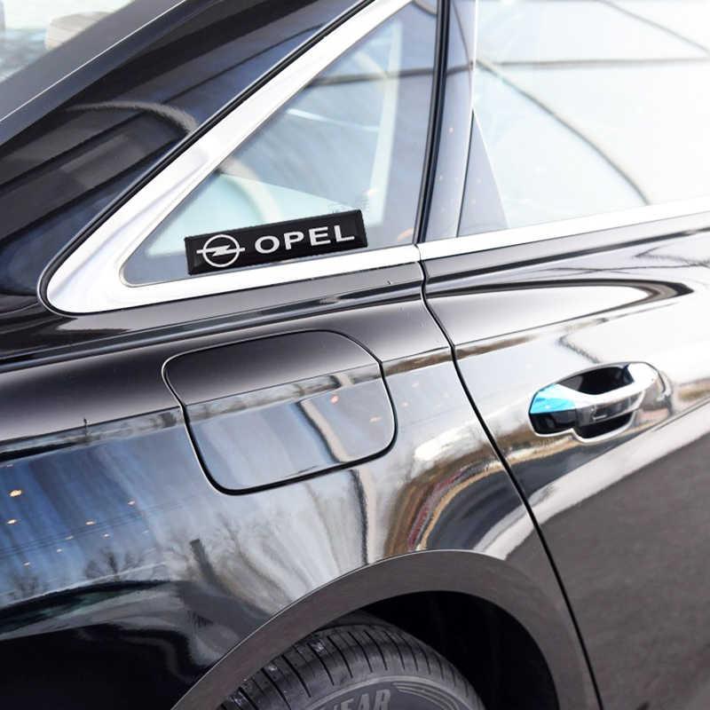 2 pièces Voiture Stylé décoration Autocollants Emblème Pour Opel H G J Corsa Insignes Astra Antara Meriv Vectra c Auto Accessoires