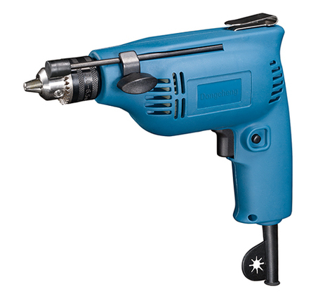 6mm Variable Speed Hand Electric Drill 230w electric drill 0-3800rpm 220-240v/50hz counter-rotating motor