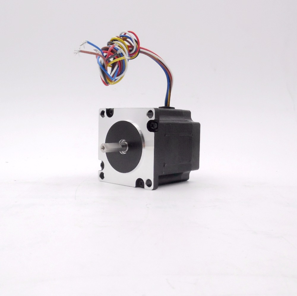 Original Leadshine NEMA23 0.9Nm hybrid stepper motor 3 phase 6 leads 3.5A L50mm 573S09 for cnc One Year Warranty motor jw7114 370w 1400 turn induction motor warranty for one year