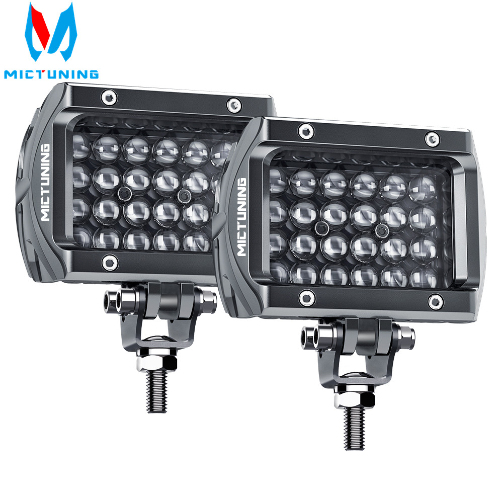 Mictuning 4 Inch 4 Row Led Work Light Bar Off Road For