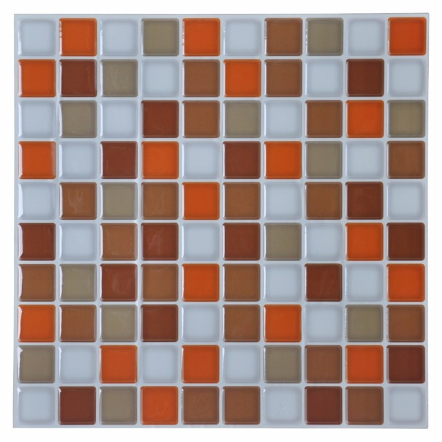 3D Wandaufkleber Küche Backsplash Fliesen 12 U0027u0027x 12u0027u0027 Schälen Und Stick  Wandfliesen