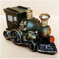 Hot Sale Retro Train Piggy Bank Children S Toy Money Box Home Decor Coin Jar Favor