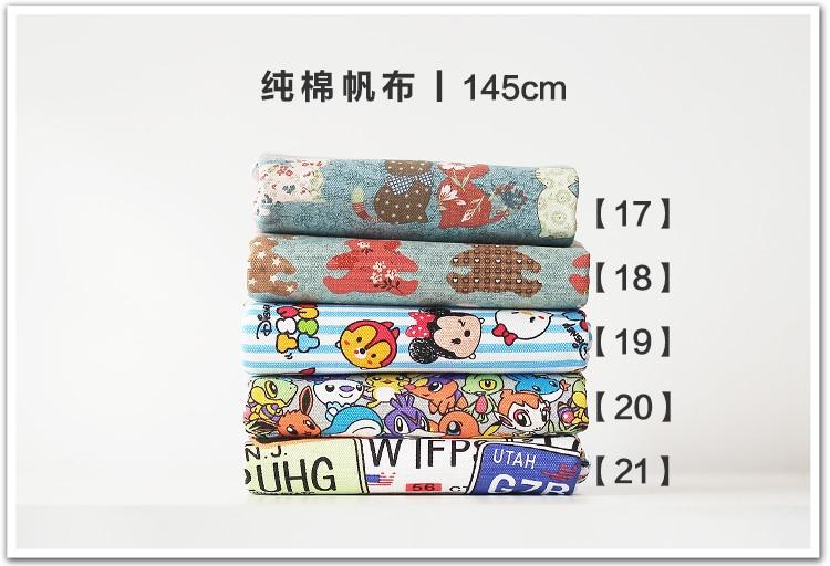 Envío gratis 50x145 cm patchwork tela de la Lona de Coser de Juguete ...