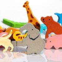 High Quality Animal/Cooking/Dianosur Puzzle tyranno&aurus/stegosaurus/noah's ark/alphabet animals/Food puzzle gift for kids toy