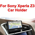 BrankBass 360 Degree Adjustable Car Mount Cradle Phone Holder with Charger Dock for Sony Xperia Z3