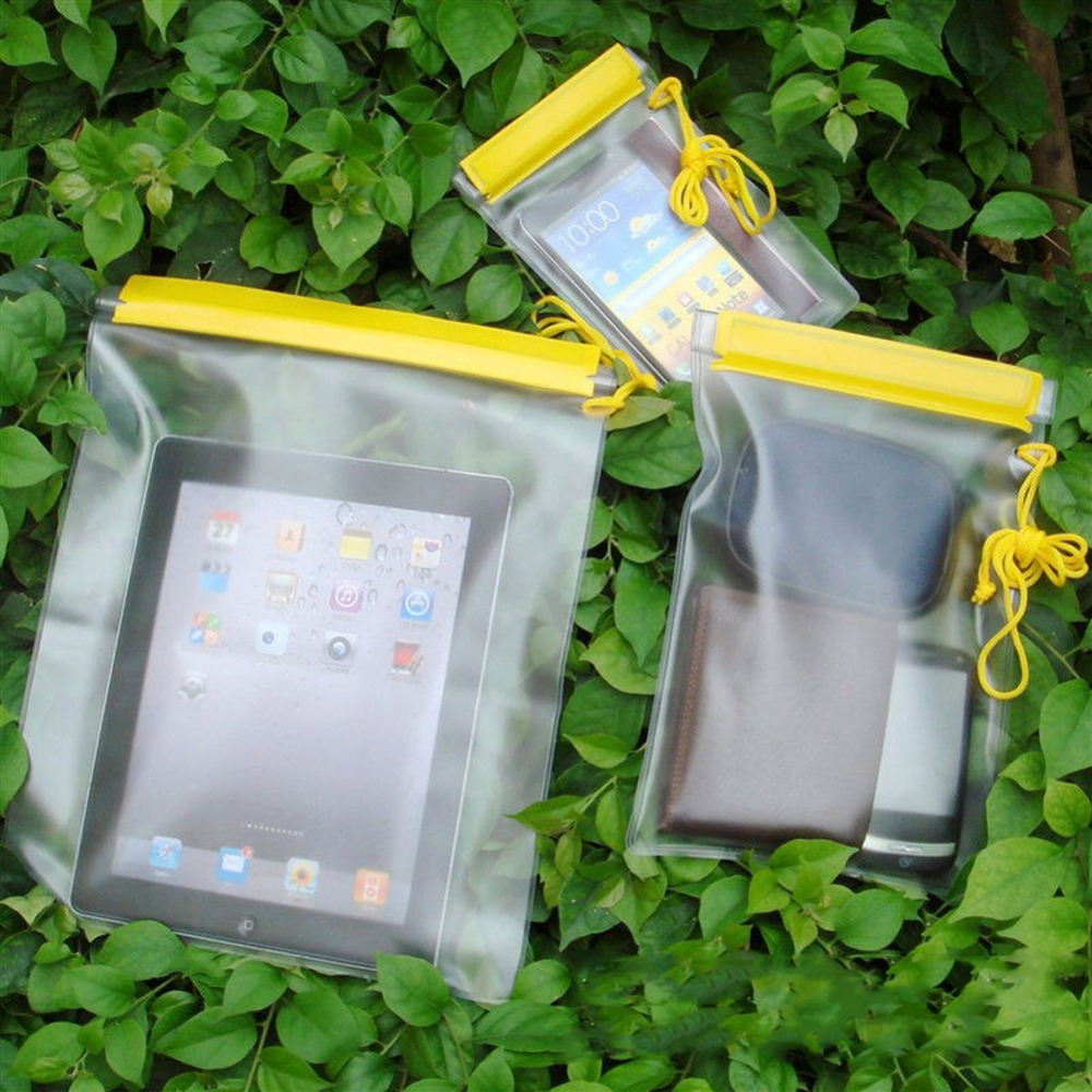 Top Sale! 3 pcs Waterproof Bag Case Mobile Phone Large Pouch Holder Swimming Waterproof Dry Bag Protective Cover