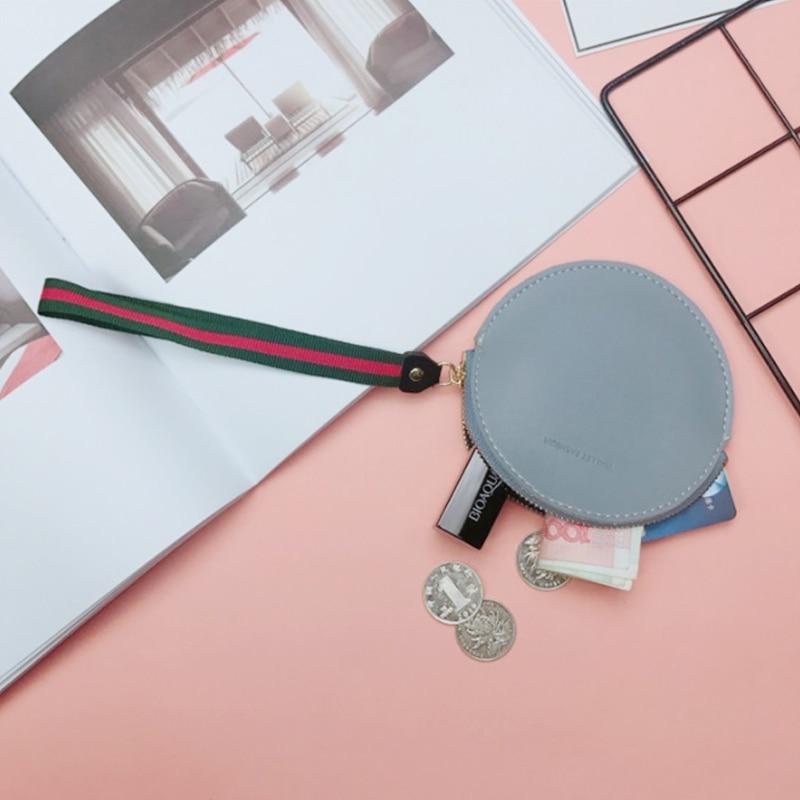 New Fashion pu Läderkvinnors Mini Coin Purses Ändra Wallet Purse - Plånböcker - Foto 4