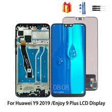 Original For Huawei Y9 2019 LCD Display Touch Screen Digitizer Assembly For Enjoy 9 Plus Screen LCD Display Replacement super original 9 7 lcd display for cube t9 2048x1536 ips hd retina screen t9gt inner lcd screen panel replacement