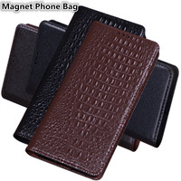 JC15 Genuine Leather Magnet Phone Bag With Kickstand For Samsung Galaxy A60(6.3') Case For Samsung Galaxy A60 Phone Case