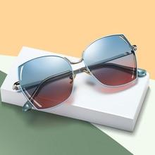 цена на 2019 Luxury Oversized Polarized Sunglasses Women Brand Square Ladies Sun Glasses Female Driving Mirror Sunglass Oculos De Sol