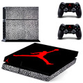 2017 Basketball Legend Michael Jordan Shoes Box Decal for PS4 Skin Stickers for Sony PlayStation 4 console & 2 controller skins