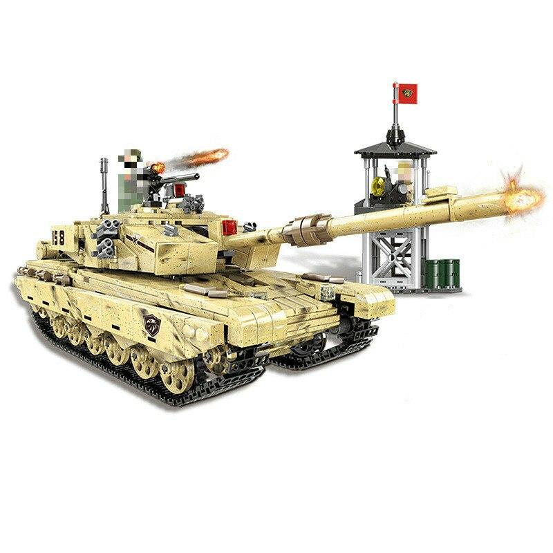 06021 Military Arms World War 2 Rocket Gun Tank Building Blocks Bricks children Toys gift