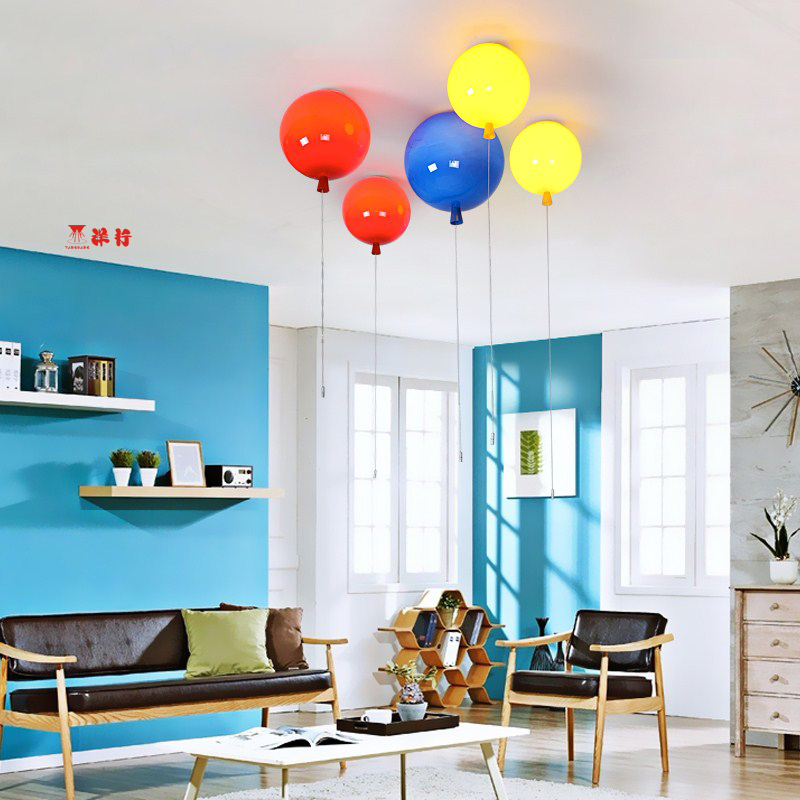 Lights & Lighting Romantic Colorful Balloon Ceiling Lights Baby Childrens Room Cozy Lamp Lustre Luminarias Minimalist Plafonnier Moderne Lamparas De Techo