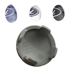 5fbfc921d9e 4 pcs lot ABS Plastic 54mm Blue Black Silver Wheel Center Hub cap Cover Logo