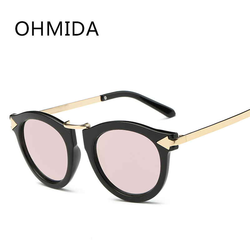 7f6ebbd6c3eee OHMIDA Óculos De Sol para Mulheres Dos Homens de Moda de Nova Marca de Luxo  Designer de Óculos de Sol Espelho Óculos Gafas Oculos de sol Feminino  masculino