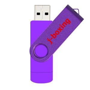 Image 3 - Lila USB Flash Drive OTG High Speed Memory Stick 64GB 32GB 16GB 8GB Speicher Dual Micro USB Stick Für Android/Tabletten/PC/Mac