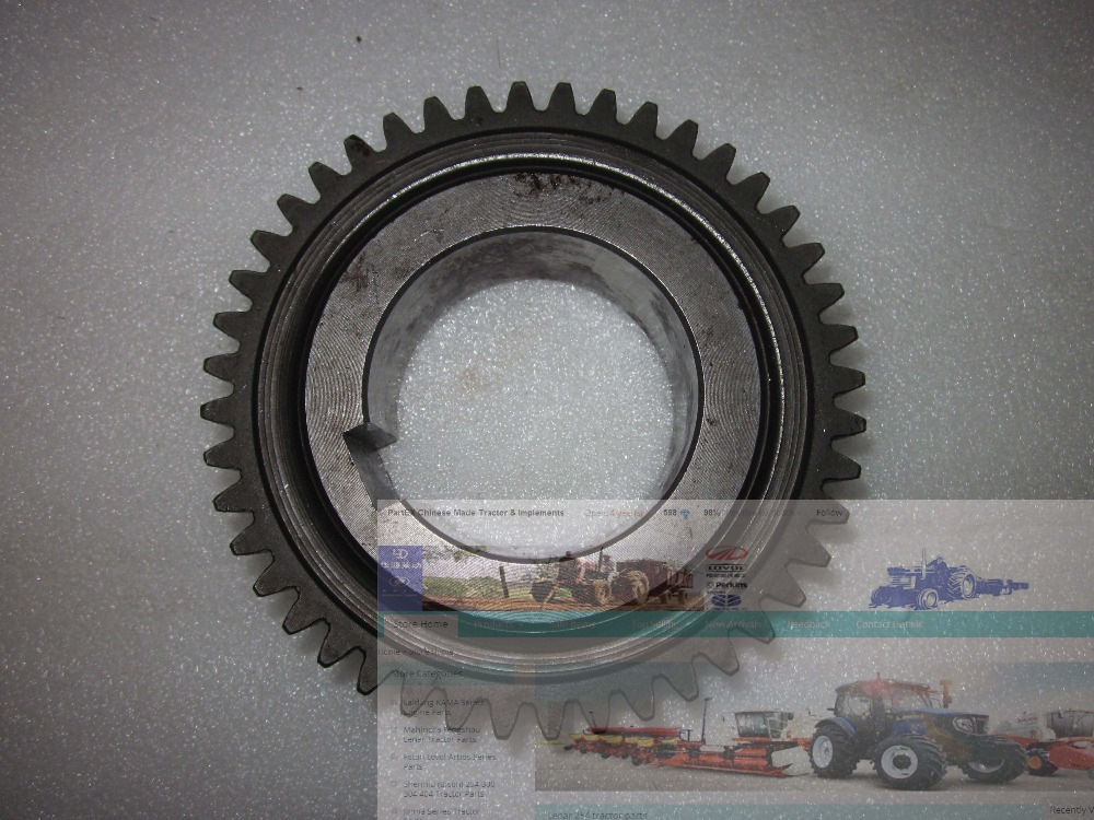 Foton TE250 TE254 tractor parts, the driven gear I, part number: FT250.37.119 б у foton bj1049