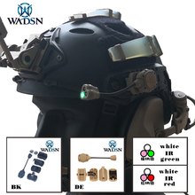 WADSN פרינסטון טק MPLS 3 טקטי קסדת אור צבאי ציד Airsoft תאורה תאורה מערכת WNE05015 נשק אורות