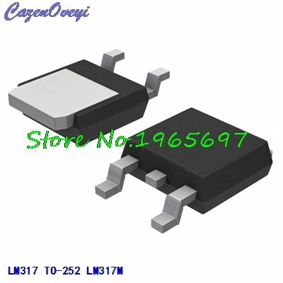 10pcs/lot LM317M LM317 TO-252 New Original In Stock