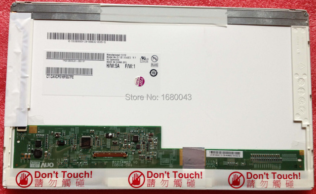 Free shipping B101AW03 V.1 V.0 LTN101NT02 BT101IW01 N101L6-L01-L02 LP101WSA LTN101NT06 LTN101NT07 HSD101PFW2 N101L6-L0A 10.1LED