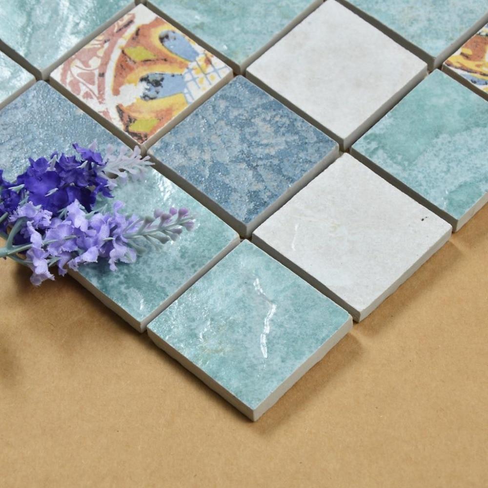 Antique ceramic mosaic tile stickers floor tile wall tile on antique ceramic mosaic tile stickers floor tile wall tile on aliexpress alibaba group dailygadgetfo Choice Image