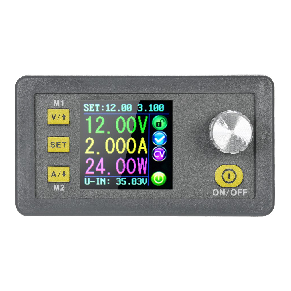 DPS3005 Constant Voltage Current Step-down Programmable Control Supply Power Module Buck Voltage Converter Color LCD Voltmeter constant digital voltage current meter step down dp50v2a voltage regulator supply module buck color lcd display converter