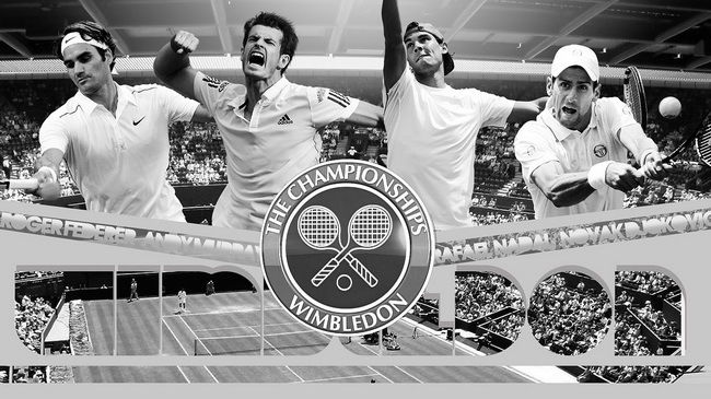 40 Andy Murray - British No1 World Tennis Wimbledon Winner 25x14 Poster