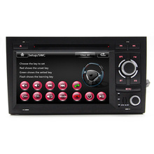 Free Ship Wince 6 0 Car DVD Player GPS Navigation head unit For Audi A4 S4