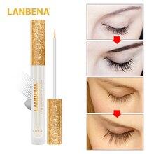 LANBENA Eyelash Growth Eye Serum Eyelash Enhancer Longer Fuller Thicker Lashes Eyelashes and Eyebrows Enhancer Eye Care Dropship цена и фото
