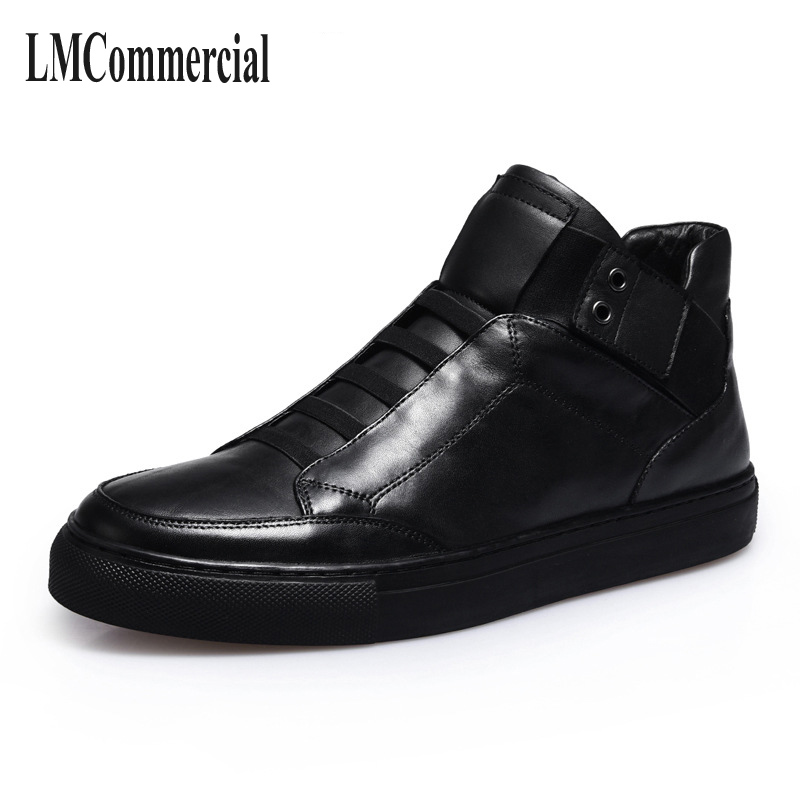 men boots ,boots men  high shoes winter Europe winter trend of Korean men's casual shoes leather boots British spot the fall of new men s casual shoes leather trend of korean youth all match low men shoes