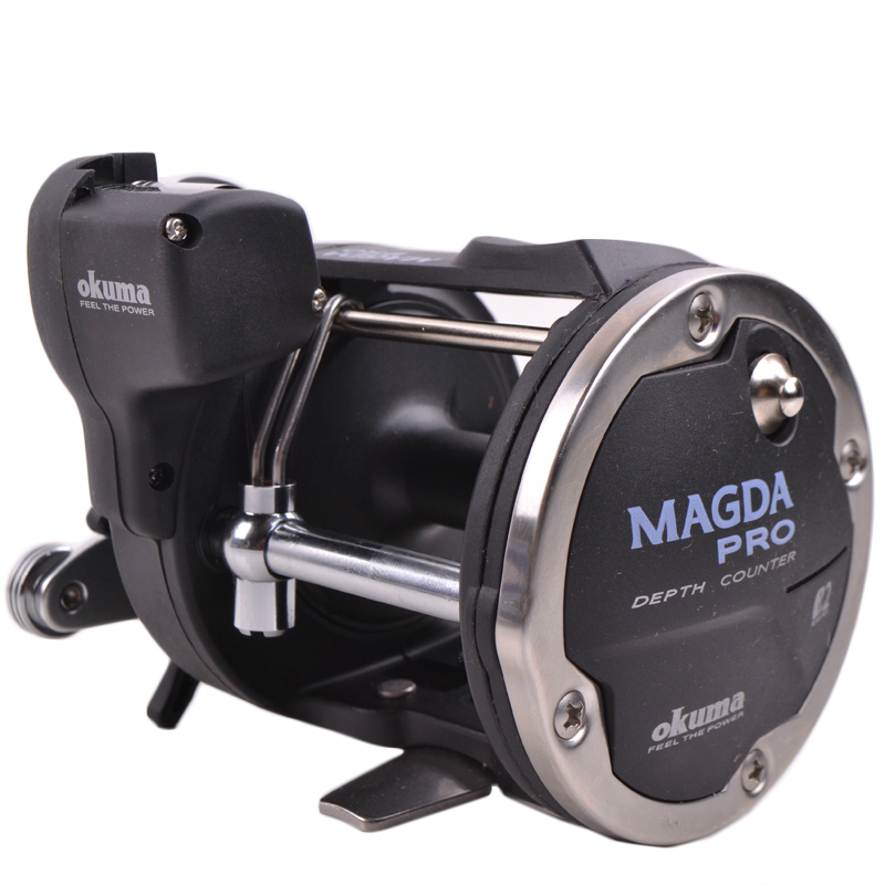 цена на Okuma magda series MA-20DX drum fishing vessel counter boat right hand fishing reel